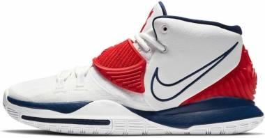 Nike Kyrie 6 - White Red Blue (BQ4630102)