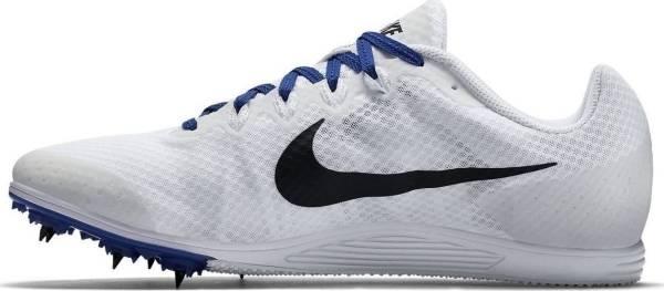 Nike Zoom Rival D 9 - White / Black / Racer Blue