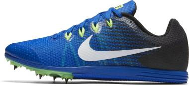 Nike Zoom Rival D 9 - Azul Hyper Cobalt Black Ghost Green White (806556413)