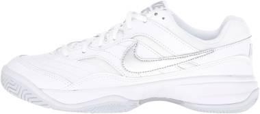 NikeCourt Lite - White/Metallic Silver/Medium Grey (845048100)