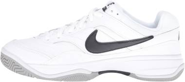 NikeCourt Lite - Blanc White Black Medium Grey 100 (845021100)