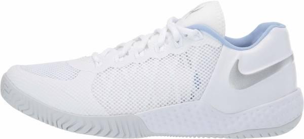 NikeCourt Flare 2 - White/Metallic Silver/Pure Platinum (AV4713100)