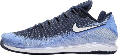 NikeCourt Air Zoom Vapor X Knit - Blue (AR0496406)