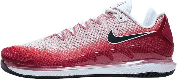 NikeCourt Air Zoom Vapor X Knit - Red