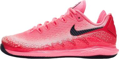 NikeCourt Air Zoom Vapor X Knit - Red