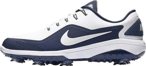Nike React Vapor 2 - White/Metallic White/Midnight Navy