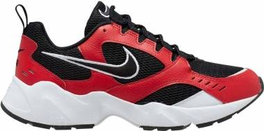 Nike Air Heights - Black Black University Red White