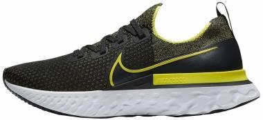 Nike React Infinity Run Flyknit - Black / Sonic Yellow / White / Anthracite (CD4371013)