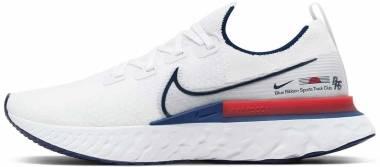 Nike React Infinity Run Flyknit - White (CW7597100)