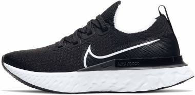 Nike React Infinity Run Flyknit - Black / White / Dark Grey (CD4371002)