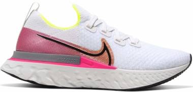 Nike React Infinity Run Flyknit - White (CD4372004)