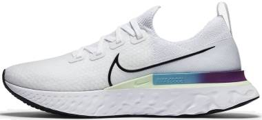 Nike React Infinity Run Flyknit - White (CD4371102)
