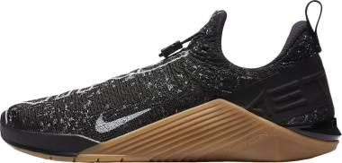 Nike React Metcon - Black/Gum Medium Brown/White (BQ6044011)