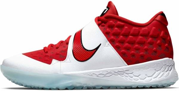 Nike Force Zoom Trout 6 Turf - University Red/University Red-gym Red (AT3463600)