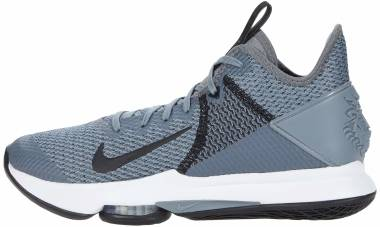 Nike LeBron Witness 4 - Cool Grey White Pure Platinum Black (CV4004001)