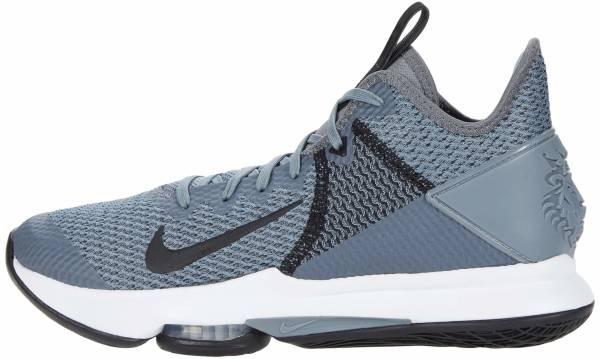 Nike LeBron Witness 4 - Cool Grey White Pure Platinum Black (CV4004001)