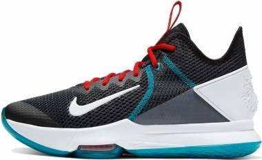 Nike LeBron Witness 4 - Black White Chile Red Glass Blue Dk Smoke Grey Univ Red (BV7427005)