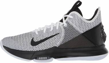 Nike LeBron Witness 4 - White Black White (BV7427101)