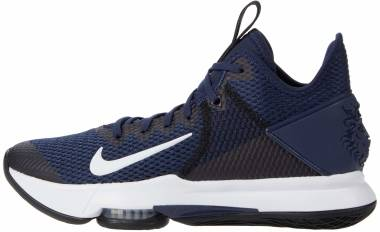 Nike LeBron Witness 4 - Midnight Navy Black Pure Platinum White (CV4004401)