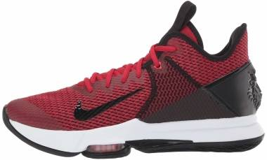 Nike LeBron Witness 4 - Nero Black Gym Red Uniform Red 002 (BV7427002)