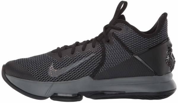 Nike LeBron Witness 4 - Schwarz Schwarzeisengrau Anthrazit (BV7427003)