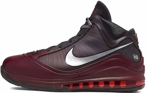 Nike LeBron 7 - Team Red / Metallic Silver-black (CU5133600)
