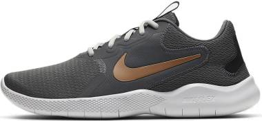 Nike Flex Experience RN 9 - Smoke Grey/Metallic Copper-dark Smoke Grey-photon Dust-gum Medium Brown (CD0226003)