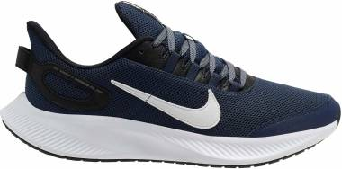 Nike Run All Day 2 - Midnight Navy White Black (CD0223400)
