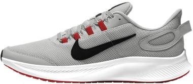 Nike Run All Day 2 - Grey Fog Black Chile Red Racer Blue White (CD0223009)