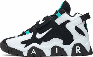 Nike Air Barrage Mid - Black/White-Cabana