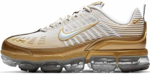 Nike Air Vapormax 360 - White/Metallic Gold-black-reflect Silver (CK9670101)