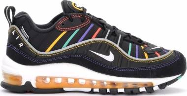 Nike Air Max 98 Premium - Black/Flash Crimson (CI1901023)
