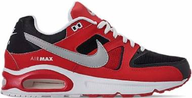 Nike Air Max Command - Black University Red White Metallic Silver (629993039)