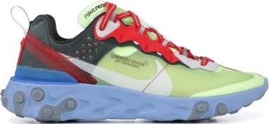 Nike React Element 87 Undercover - Volt, Varsity Red-black (BQ2718700)