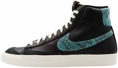 Nike Blazer Mid 77 Vintage - Black Light Aqua Sail
