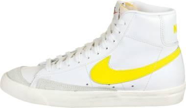 Nike Blazer Mid 77 Vintage - White/Opti Yellow (BQ6806101)