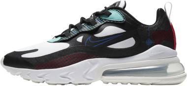 Nike Air Max 270 React - Black White Hyper Royal 001 (CZ7344001)