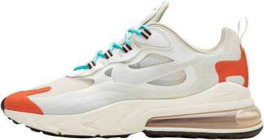 Nike Air Max 270 React - Light Beige/Orange/White (AO4971200)