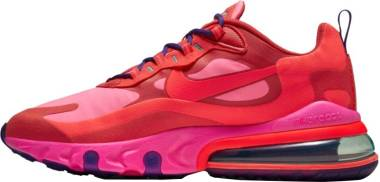 Nike Air Max 270 React - Mystic Red/Bright Crimson/Pink Blast (AO4971600)