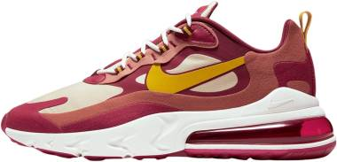 Nike Air Max 270 React - Noble Red / Dark Sulfur-team Gold (AO4971601)