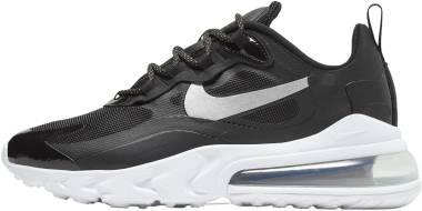 Nike Air Max 270 React - Black Metallic Silver 001 (CT3426001)