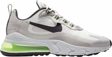 Nike Air Max 270 React - Summit White/Electric Green/Vapste Grey/Silver Lilac/Thunder Grey