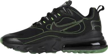 Nike Air Max 270 React - Nero Black Black Electric Green (CQ6549001)