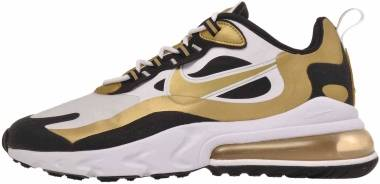 Nike Air Max 270 React - White/Metallic Gold/Black (CW7298100)