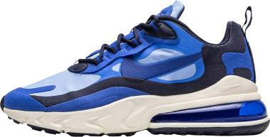 Nike Air Max 270 React - Blu Pacific Blue Hyper Blue Univ Blue Blackened Blue Sail (CI3866400)