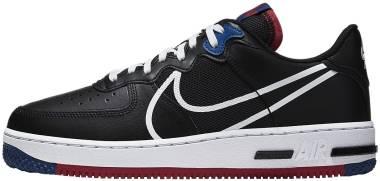 Nike Air Force 1 React - Black / Dark Smoke Grey (CT1020001)