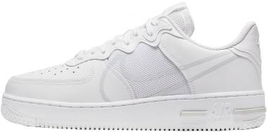 Nike Air Force 1 React - White Pure Platinum (CT1020101)