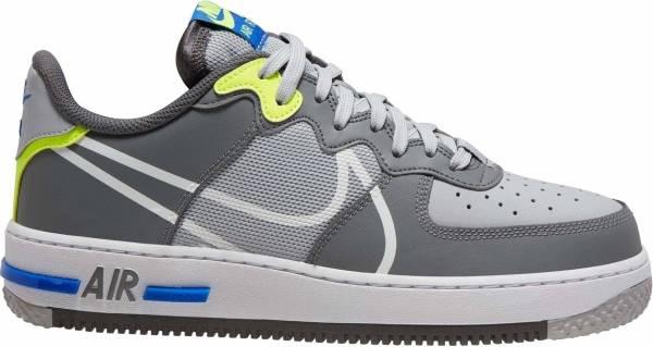 Nike Air Force 1 React - Wolf Grey White Smoke Grey Dark Grey (CD4366002)