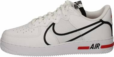 Nike Air Force 1 React - White Black University Red (CD4366100)