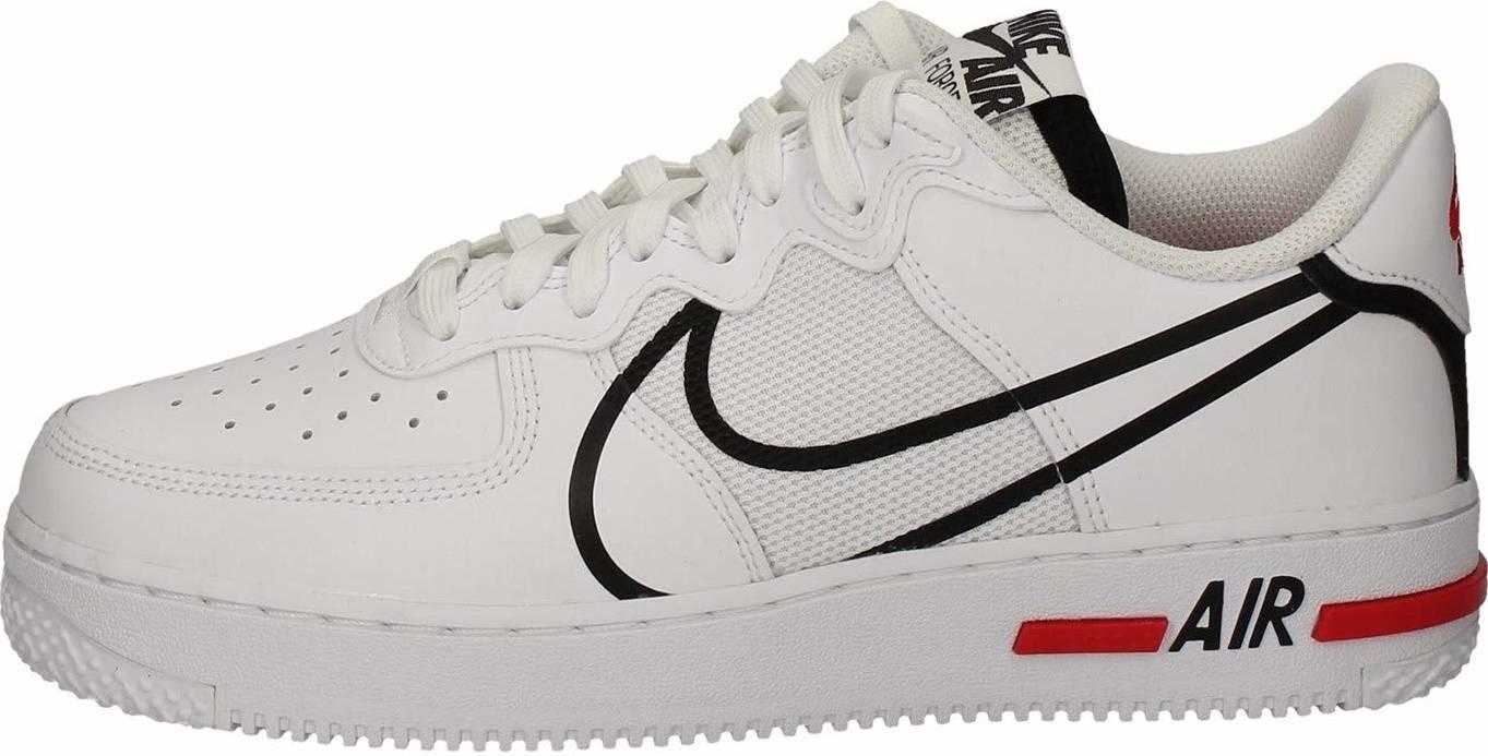Nike Air Force 1 React sneakers in white | RunRepeat